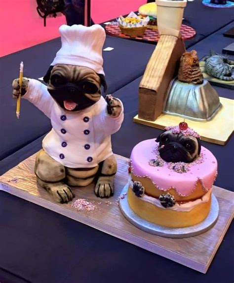 pug birthday cake the world s catalog of ideas