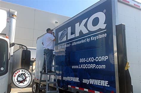 Lkq Corporate Office by Lkq Distribution Box Truck Wrap Wrap Bullys