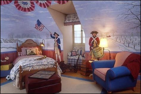 Patriotic Bedroom Decorating Ideas by Decorating Theme Bedrooms Maries Manor Primitive