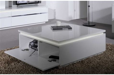 Incroyable Salle A Manger Laque Blanc Pas Cher #5: table-basse-carree-laque-blanc.jpg