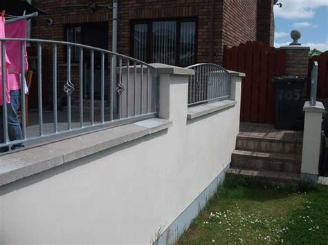 Garden Wall Railings Garden Railings Northern Ireland Bam Fabrications