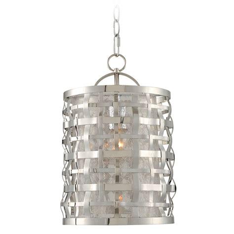 Stainless Pendant Light Kalco Lighting Bridgeport Brushed Stainless Steel Mini Pendant Light With Cylindrical Shade