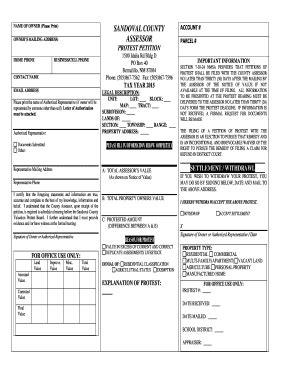Sandoval County Property Records Fillable Sandovalcountynm Sandoval County Assessor