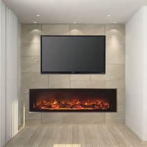 modern linear fireplace modern flames 60 quot landscape series linear electric