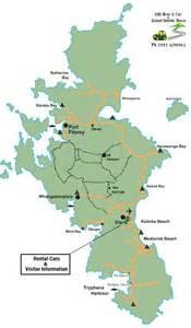 great barrier island map