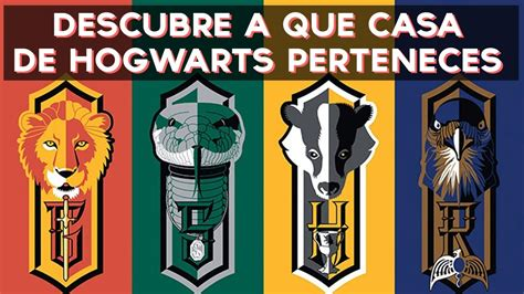 test harry potter casa 191 a que casa de hogwarts harry potter perteneces test