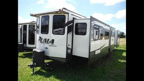 puma bht  bedroom park model trailer  camp  rv