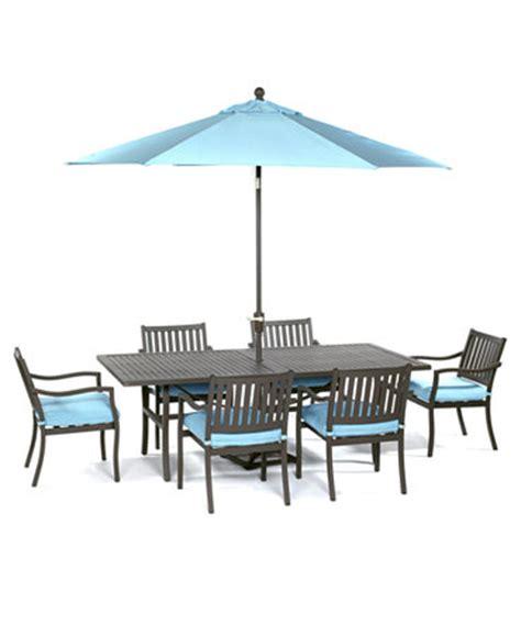 Macys Patio Dining Sets Holden Outdoor Patio Furniture 7 Set 84 Quot X 42