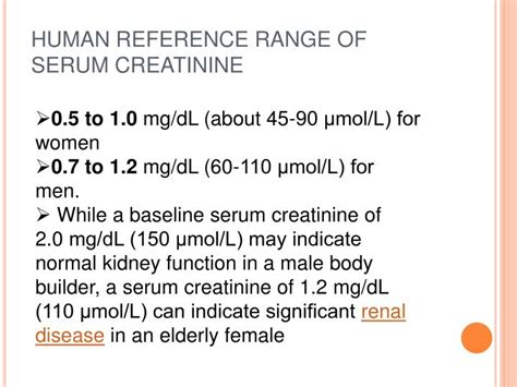 creatinine reference range serum creatinine reference range 28 images reference