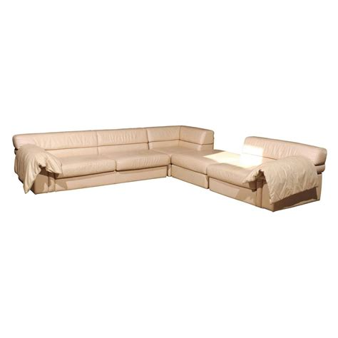 Roche Bobois Sectional Sofa by Roche Bobois Leather Sectional Sofa At 1stdibs