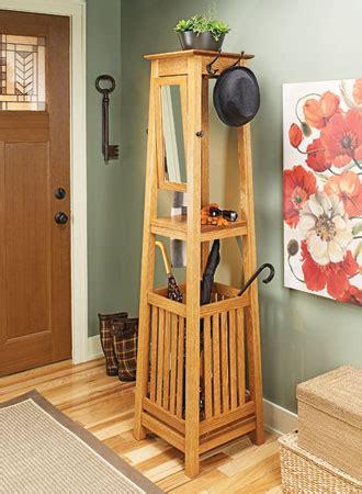 hall tree woodsmith plans