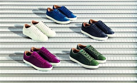 lacoste unveils new tennis inspired footwear collection