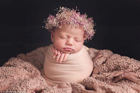 Upright Baby Sleeper by Photographer Shellie Wall Captures Sleeping Newborn Babies