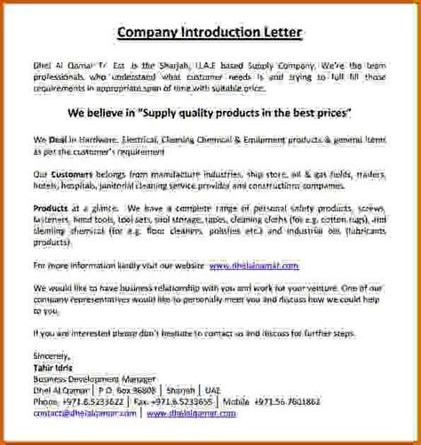 Introduction Letter For Construction Business 14 Construction Company Introduction Letter Lease Template