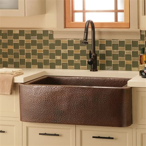Modern Kitchen Sink Deals With Awesome Impression Apron Front Sink With Backsplash