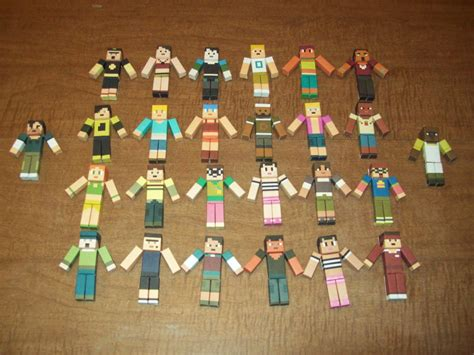 Total Papercrafts - total drama mc papercrafts 1st by cahenry12 on deviantart