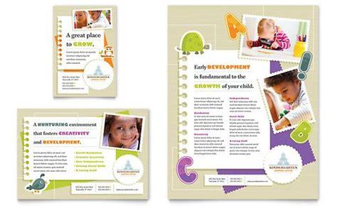design poster publisher kindergarten flyer ad microsoft word template