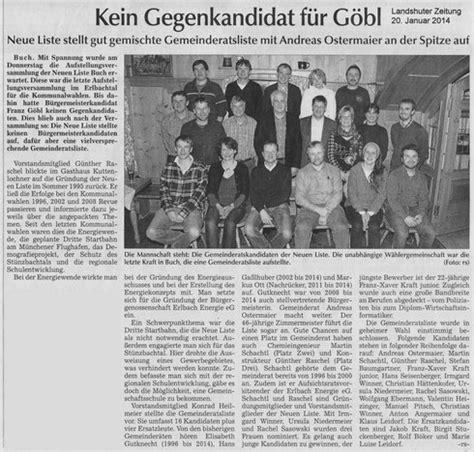 Motorrad Winner Buch Am Erlbach by Kein Gegenkandidat F 252 R G 246 Bl Neue Liste Buch De