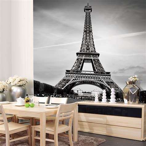 eiffel tower bedroom custom canvas art france paris poster paris wallpaper