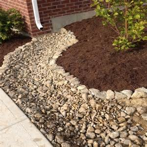 Landscape Edging With Drainage Brick Flower Bed Drainage Woodworking Projects Plans