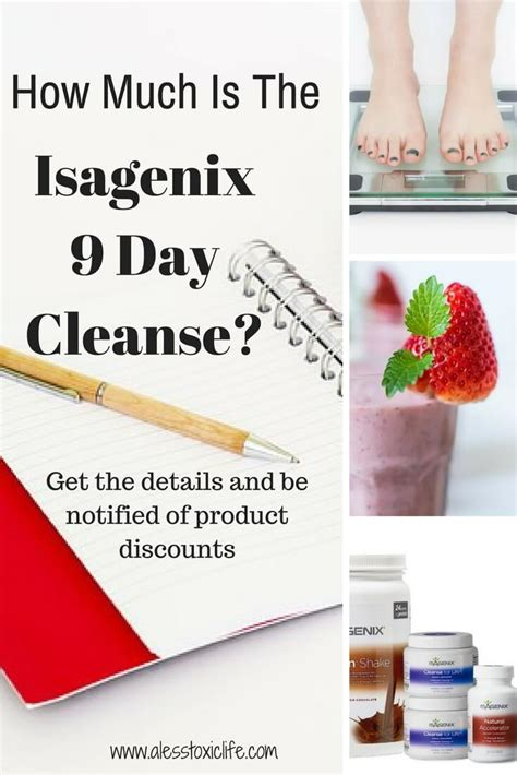 What Is The Cost Of Detox by Isagenix 9 Day Cleanse Cost
