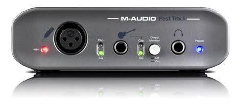 M Audio Fast Track Usb Mkii fast track mkii m audio fast track mkii audiofanzine