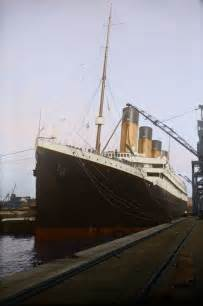 titanic color titanic in color photos of one of the largest passenger