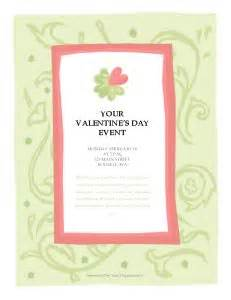 valentines day card template microsoft publisher microsoft word s day event flyer template my