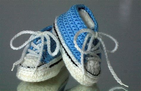converse knitted booties pattern converse style crochet baby bootees
