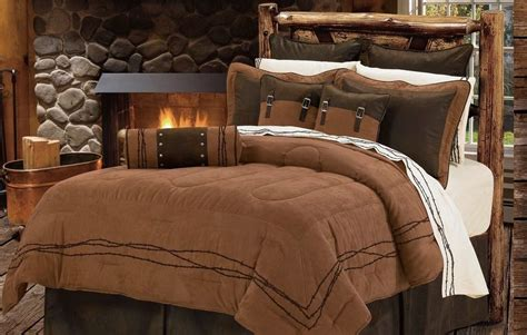 western barbed wire bedding comforter set ebay