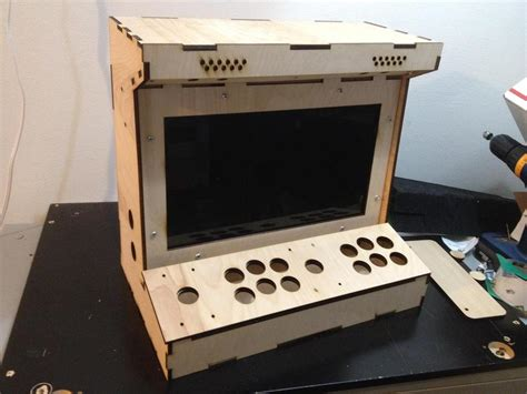 diy arcade cabinet kits more 2 player porta pi