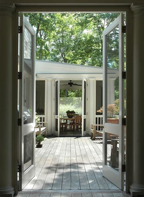 Screen Porch Doors by Screened Porch Open Deck Covered Porch Addition