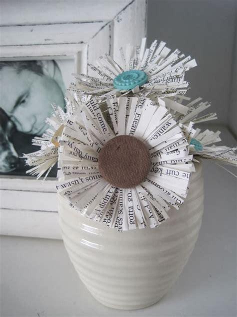flores de hoja de maquina 30 im 225 genes con ideas para reciclar hojas de papel
