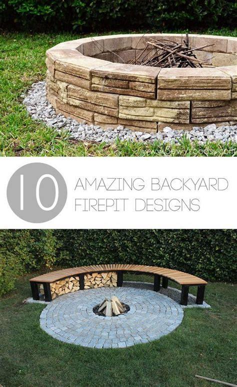 backyard with firepit 10 amazing backyard diy firepit designs tuin