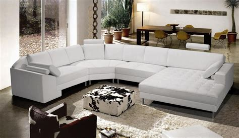 Chic collection of modern leather sectional sofas plushemisphere