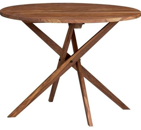 Modern Bistro Table Twist Bistro Table Modern Indoor Pub And Bistro Sets By Cb2