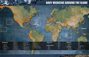 what is us maps navy navy medicine facilities and commands