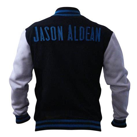 Donate Letter Jacket Letterman Jacket Jason Aldean Official Store