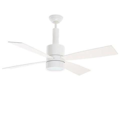 bullet ceiling fan casablanca bullet 54 in snow white ceiling fan
