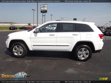 White Jeep Grand 2013 2013 Jeep Grand Limited Bright White