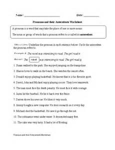 regular pronouns worksheets pronouns and their