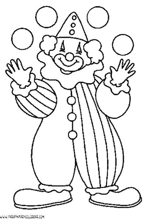 dibujos infantiles para colorear de payasos payasos para colorear imagui