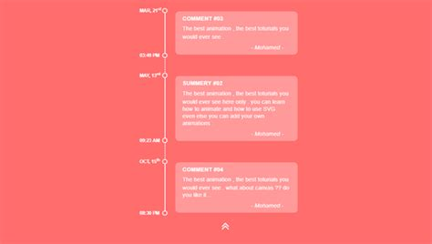 javascript vertical layout css3 css vertical timeline with custom dotted line on