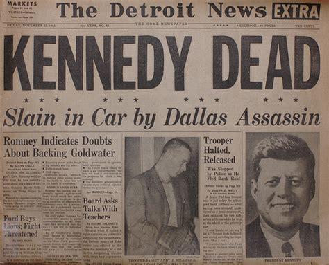 F Kennedy Assassination Essay by F Kennedy Assassination Vintage Newspaper Cuttings Photobundle