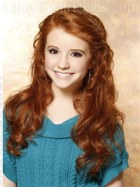 red head teens with corn rolls need some hairstyles for school here are 40 super cute ideas