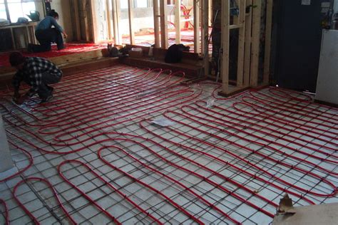 electric radiant floor heating basics cost pros cons