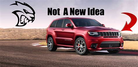 jeep trackhawk meet the grandfather of the jeep grand cherokee trackhawk