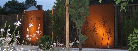 Individueller Sichtschutz Garten