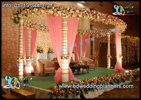 Marriage Stage Flower Decoration by Royal Platinum Wedding Planning News Bd Event