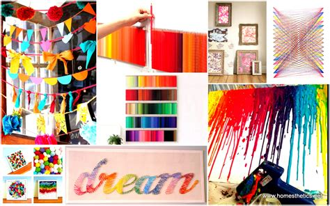 ideas to make your home beautiful 39 simple and spectacular diy wall art projects that will